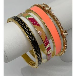 J. Crew Bangle Bracelets Lot of 4